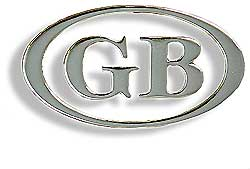 GB Oval Badge